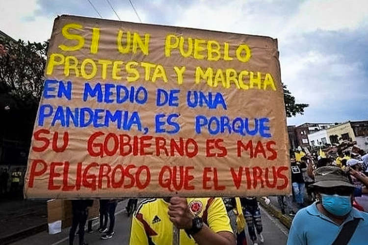 cartaz colombia
