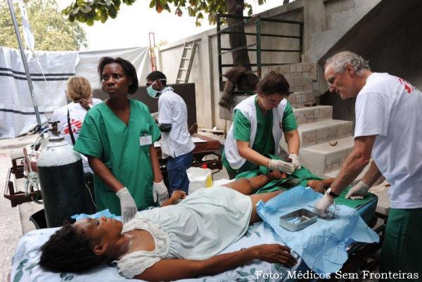 MSF no Haiti