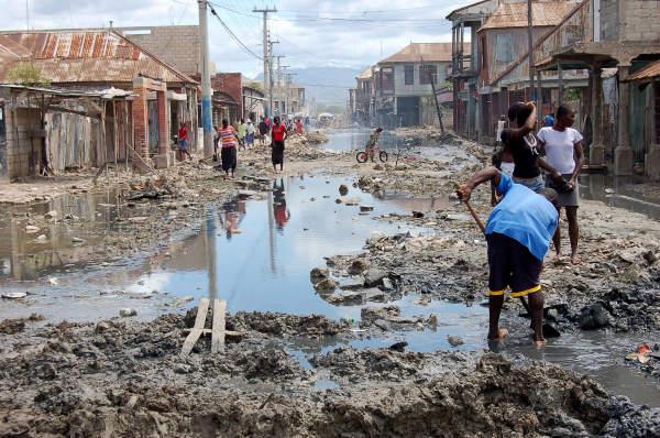 saneamento haiti
