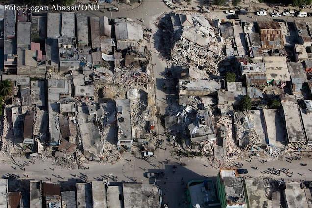 terremoto 2010 - vista aérea